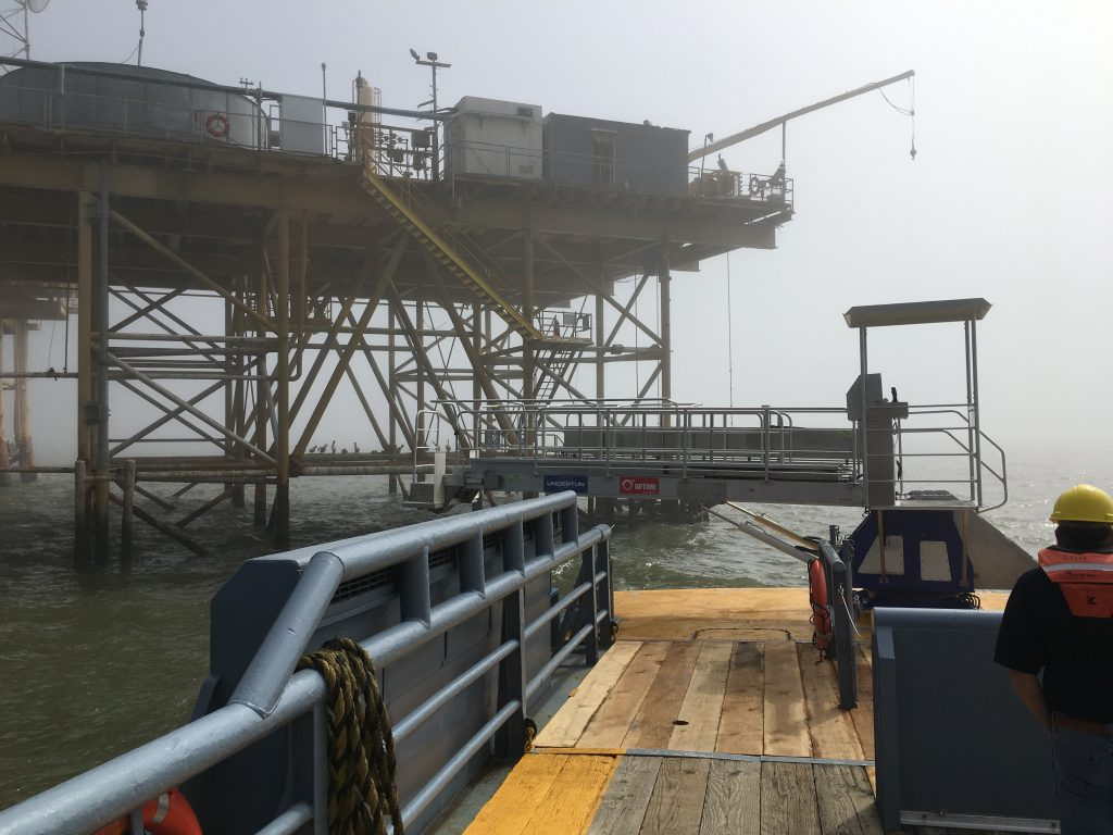 Offshore gangway